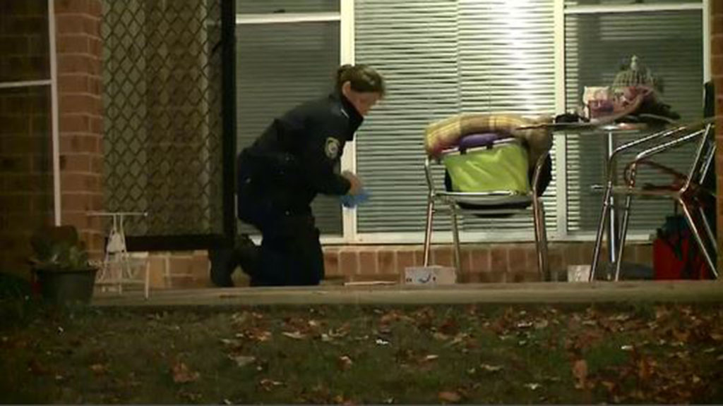 It's unknown if the shot was fired by someone on foot or in a vehicle. (9NEWS)