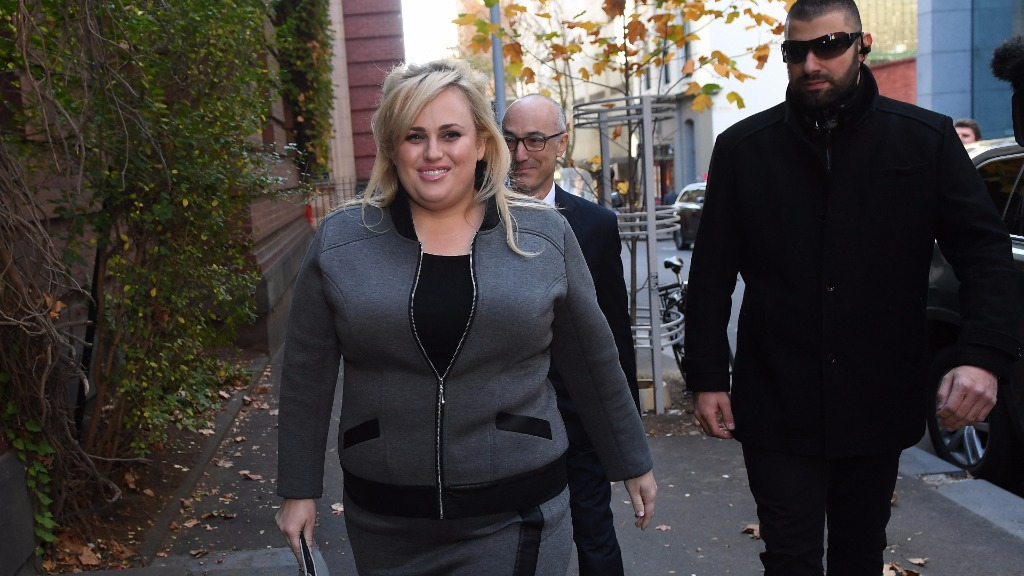 Wilson arriving at the Supreme Court of Victoria this morning. (AAP)