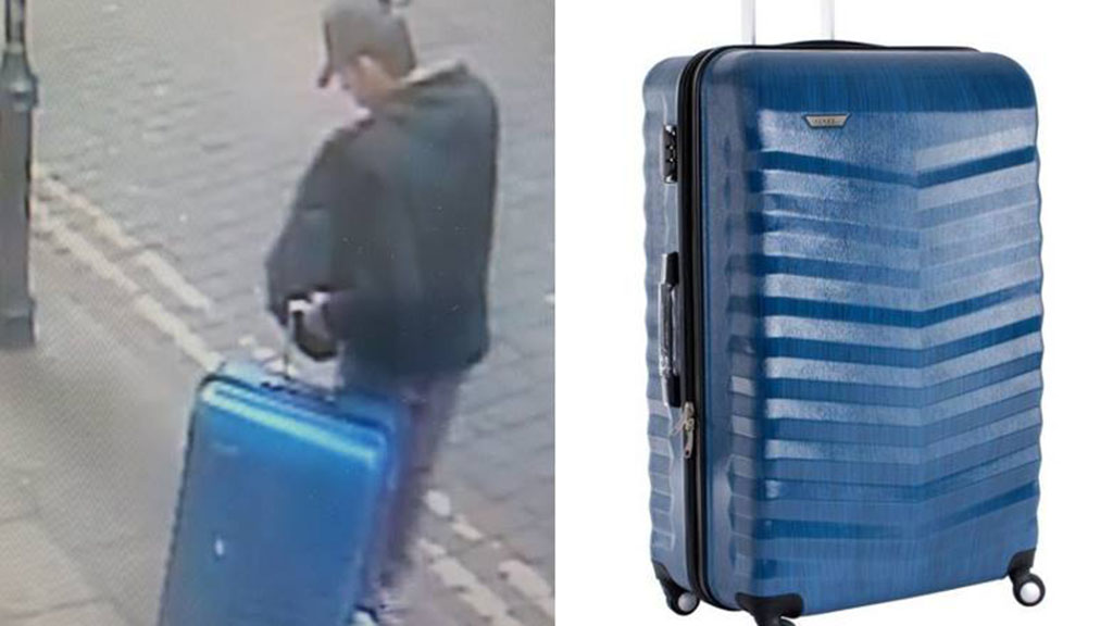 Police issue warning and new photo of Manchester bomber carrying suitcase