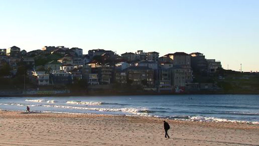 Despite sunny skies, temperatures as low as 0.1C were recorded in Sydney this morning. (9NEWS)
