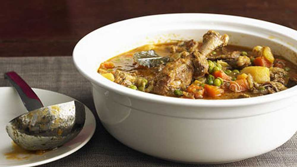 Duck and vegetable stew