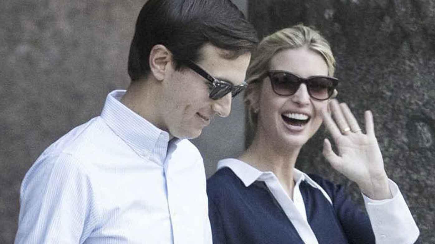 Jared Kushner and Ivanka Trump in Rome last week. (AAP)