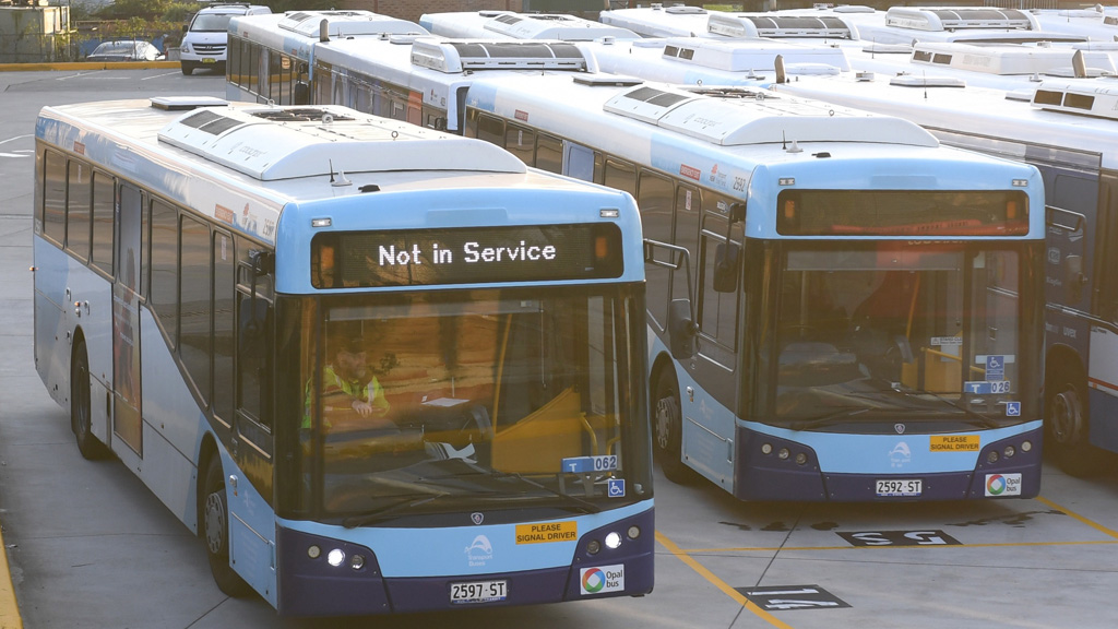 A number of Sydney bus routes will be altered next week. (AAP)