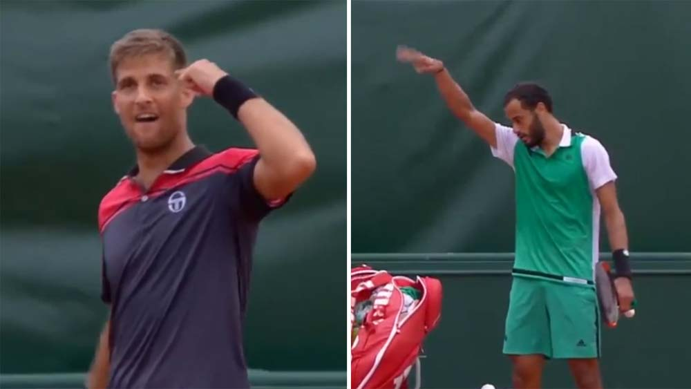 Fair shake? Refusal to clasp hands creates French Open flap