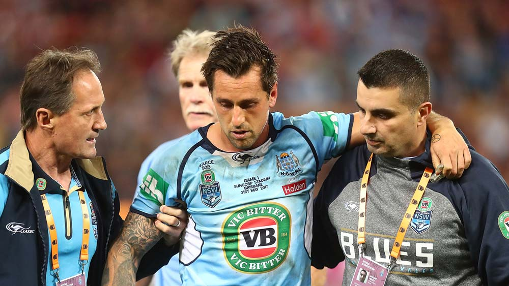 Mitchell Pearce concussed