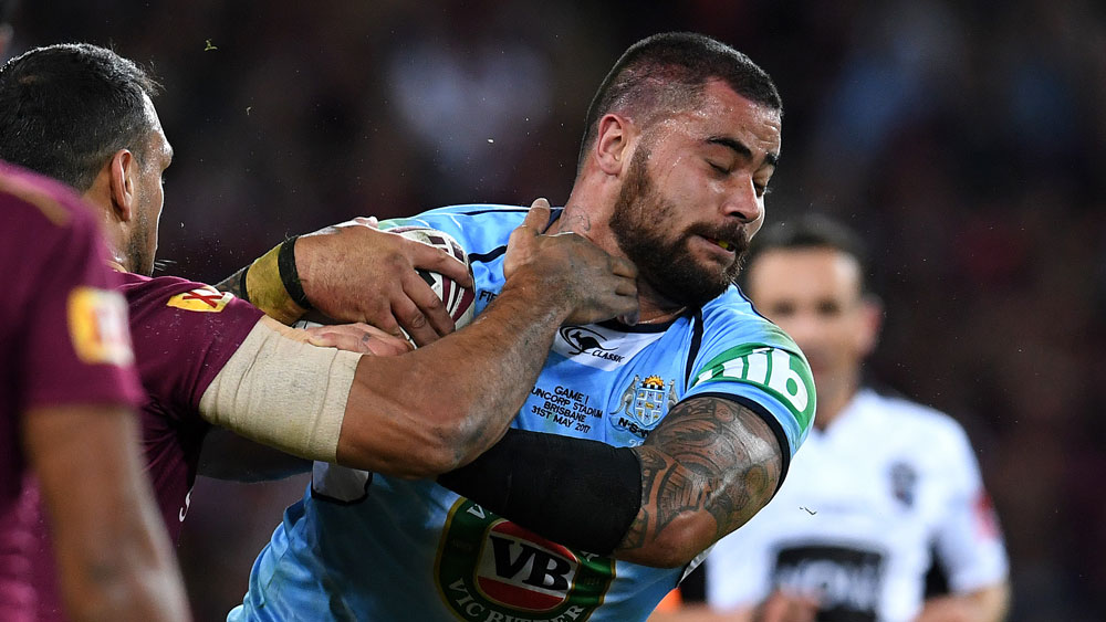 Origin star Andrew Fifita enraged by 'racist' Facebook post