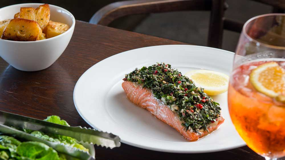 The FishHouse oven baked ocean trout