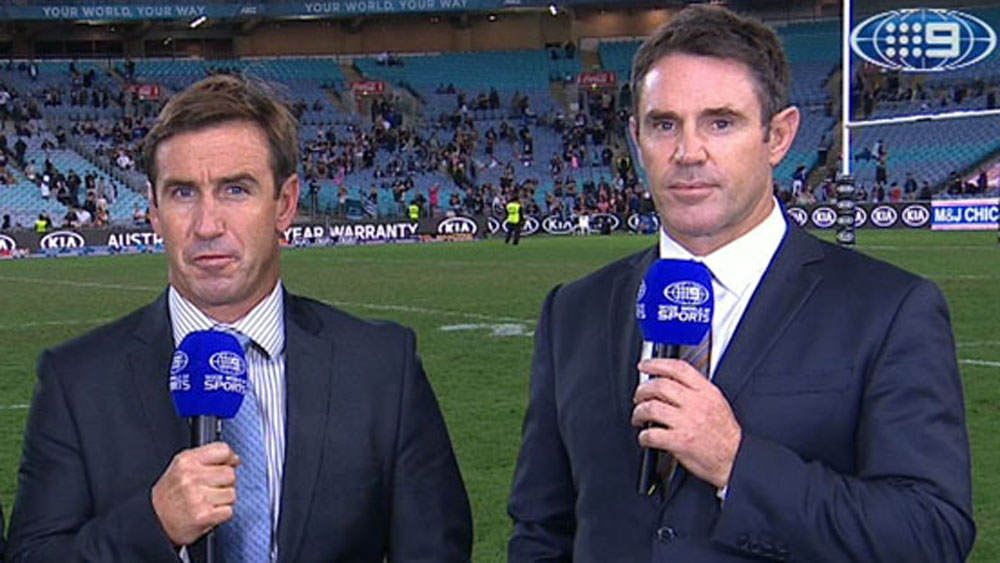 Andrew Johns and Brad Fittler.