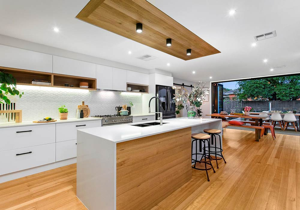 Bunnings designed home sells for at auction 9homes for 4m kitchen ideas