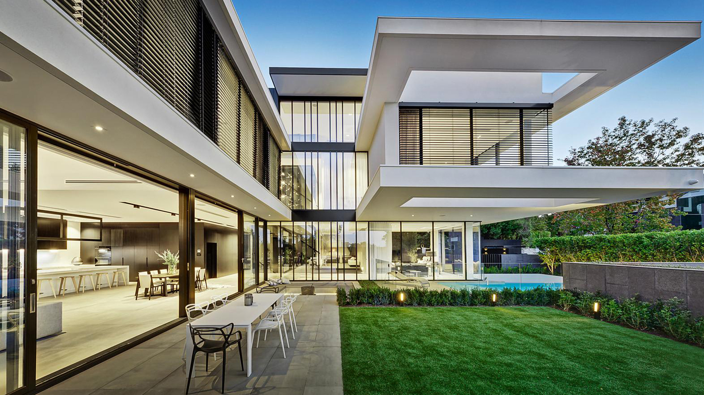 melbourne's most expensive house of 2017 just sold for $19m