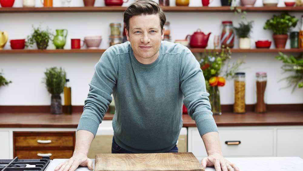 Celebrity chef and restaurateur Jamie Oliver