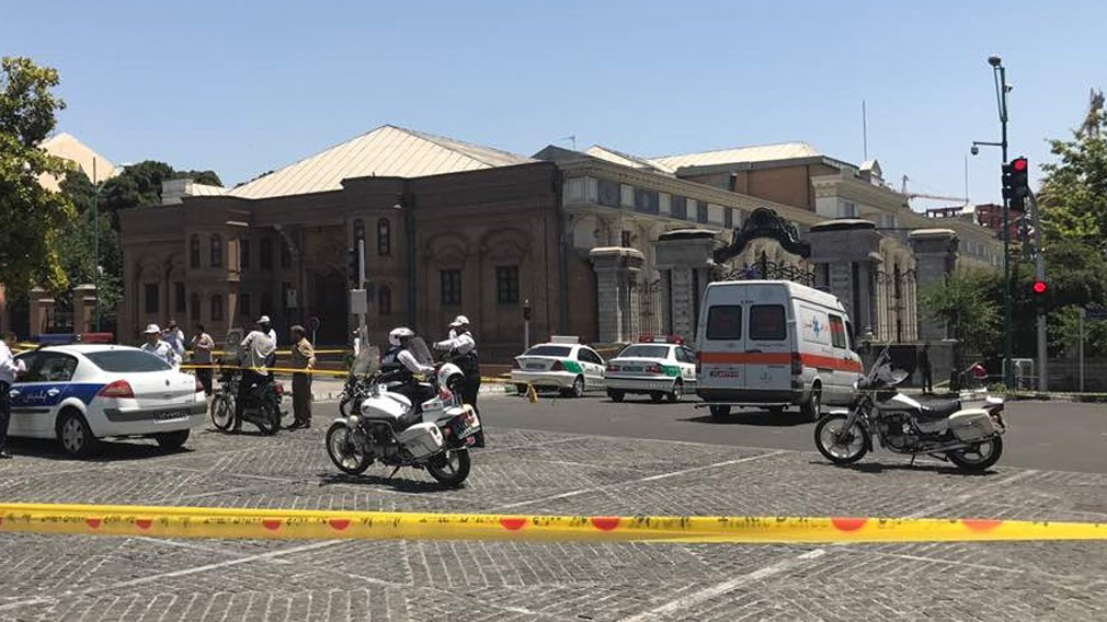 The attackers stormed Iran's parliament and the Khomeini Shrine. (Getty)