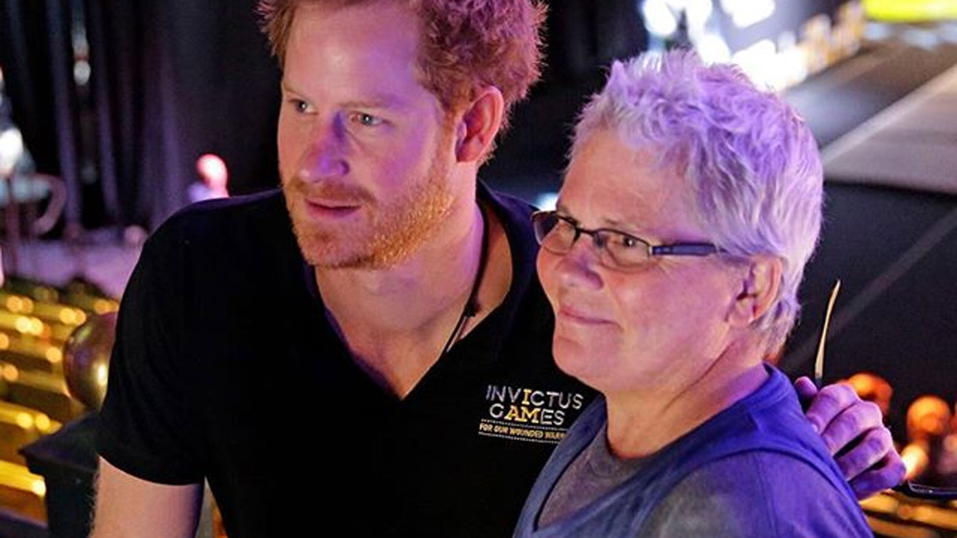 Crissy Ashcroft a no-show at Prince Harry's Invictus launch