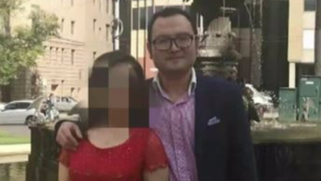 The 36-year-old was married just last week. (9NEWS)