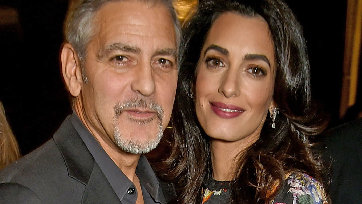 Clooney twins set to be Pampered