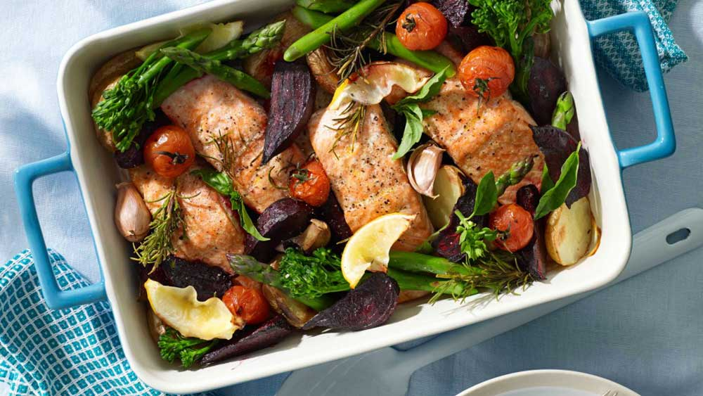 One pot salmon