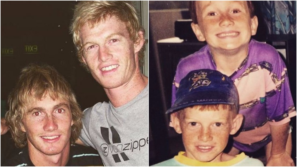 Ben Woods is riding across Australia on a push bike in memory of his brother, Jason. (Instagram via @rideforjase)