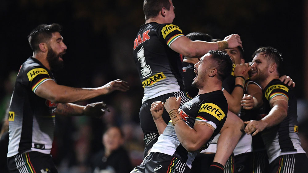Panthers' win over Manly keeps Penrith in race for NRL top eight