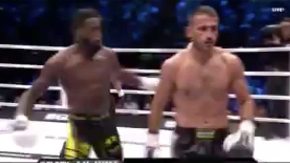 Chaos!! Kickboxer Attacked By Fans After Vicious KO of Opponent