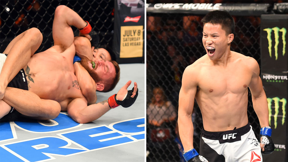 Australian flyweight Ben Nguyen beats Tim Elliott in under a minute at UFC Fight Night 110