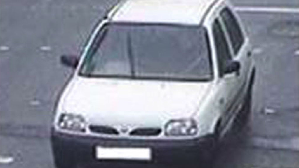 Police are looking for information about the Nissan Micra car Abedi was driving. (Supplied/Greater Manchester Police)