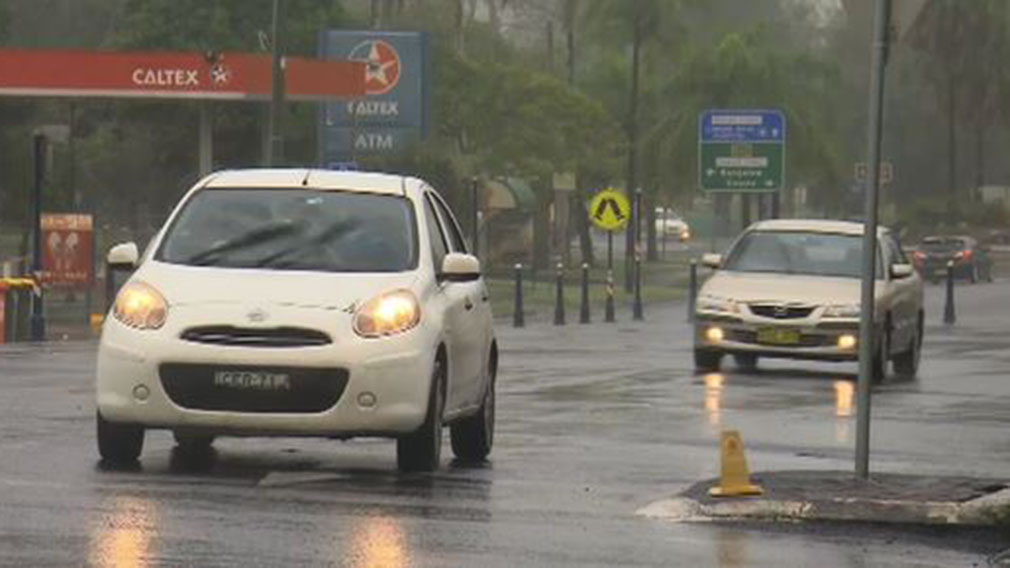More than 150mm of rain fell across the NSW's Northern Rivers district in just 48 hours. (9NEWS)