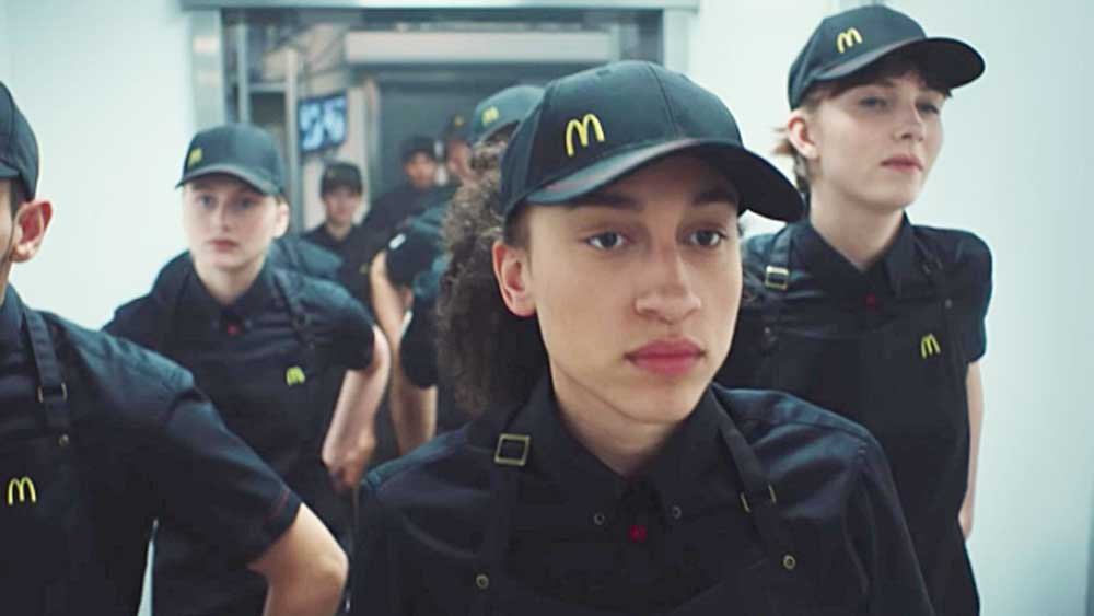 Swedish McDonald's ad compares workers to soliders