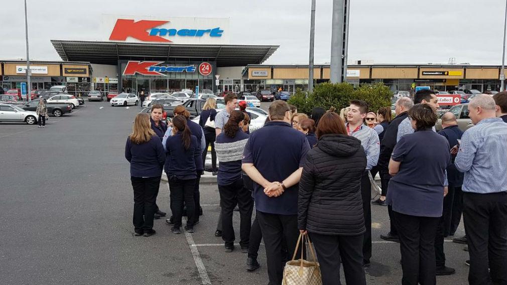Burwood Kmart store evacuated over bomb scare