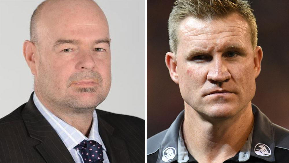 Mark Robinson and Nathan Buckley.
