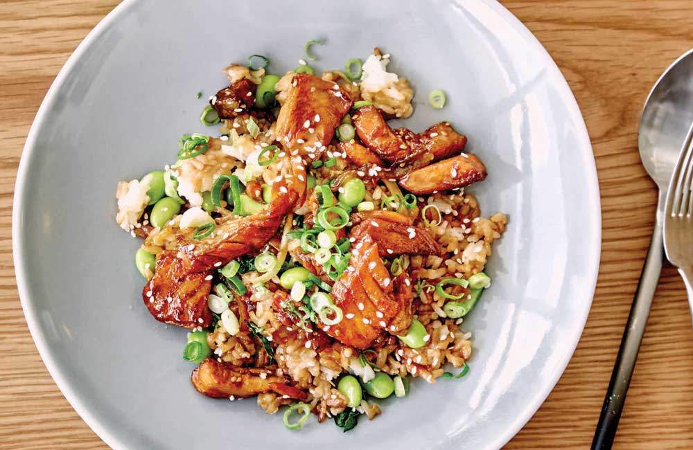 eb6ecdd9b4d7 Teriyaki salmon rice bowl - 9Kitchen