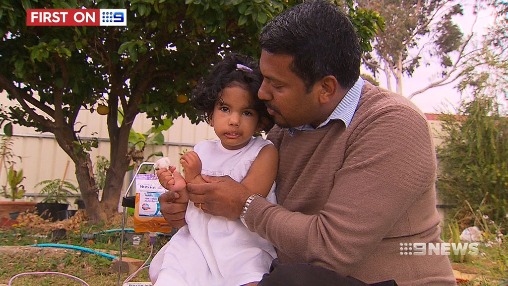Mr George is a full-time registered nurse in the aged care sector. (9NEWS)