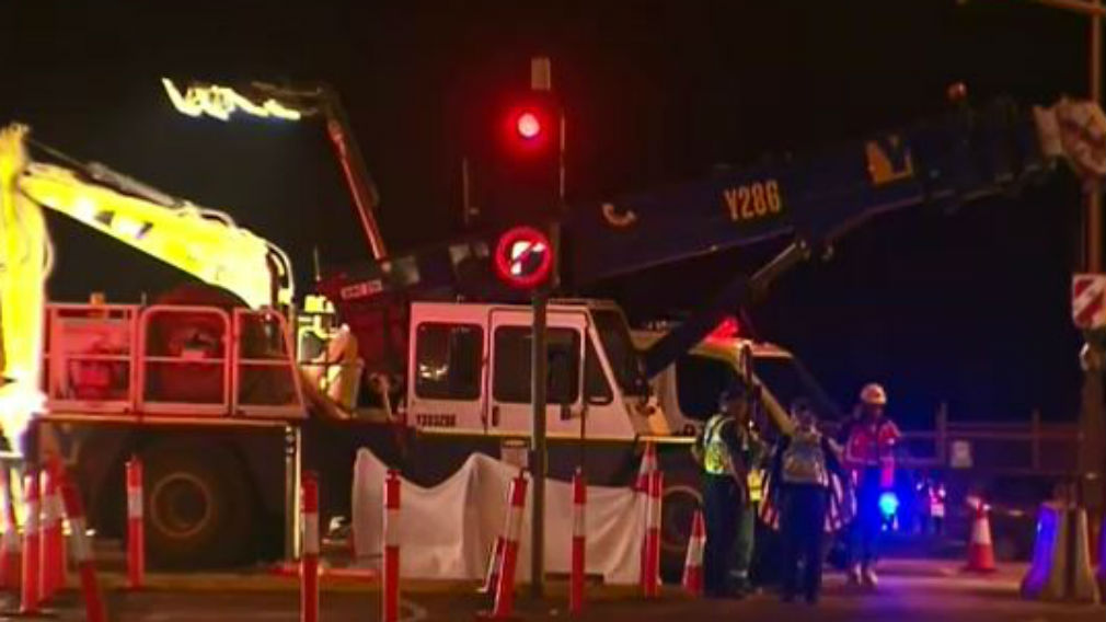 Adelaide man killed in crane accident