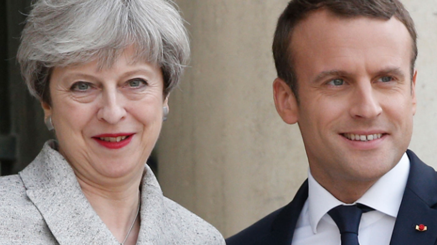 May tough on terror in France visit
