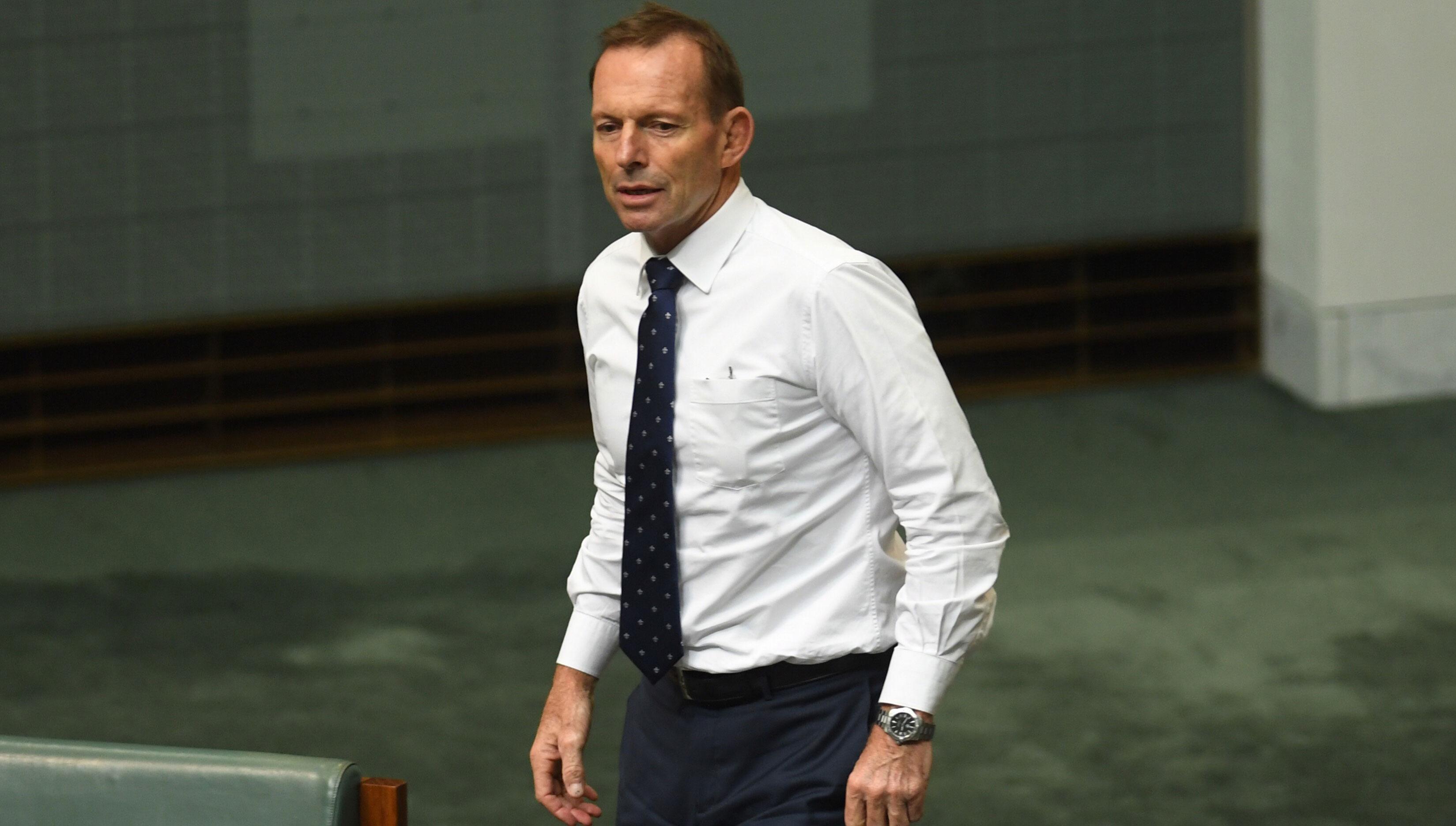 Former Prime Minister Tony Abbott. (AAP)
