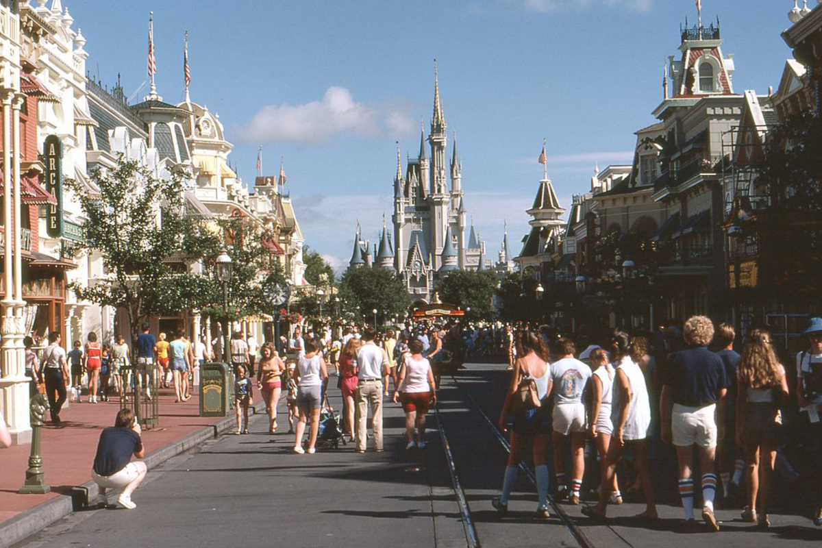 <strong>Walt Disney World, Florida in 1980</strong>