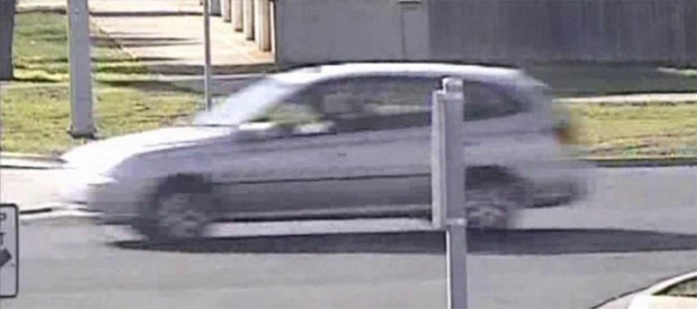 A silver Kia Rio wagon. (Victoria Police)