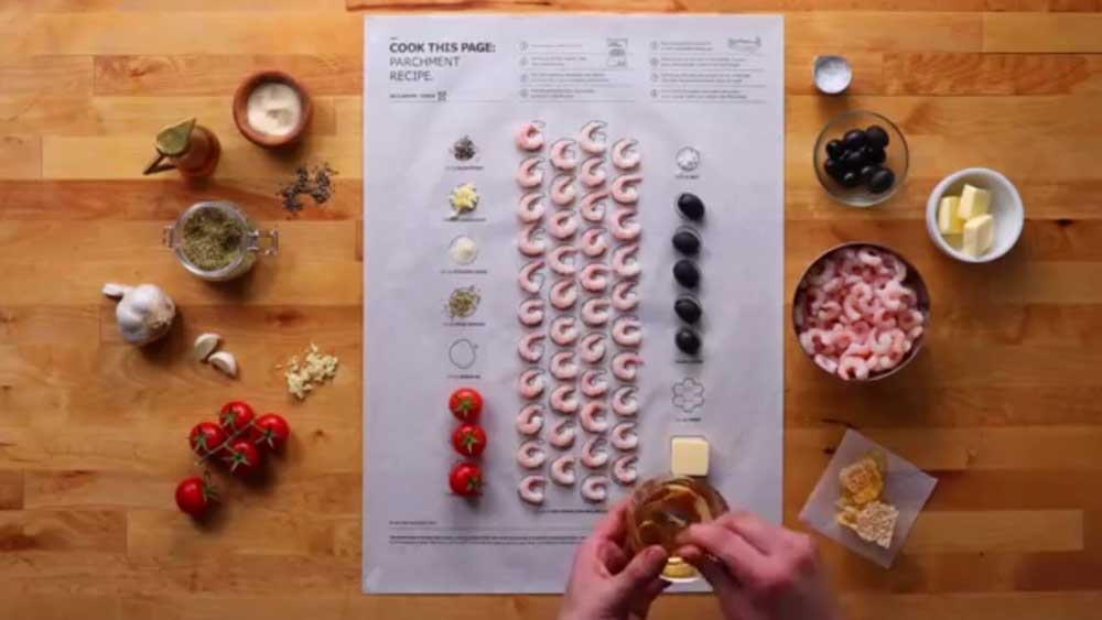 Ikea Cook This Page Campaign Makes Dinner Easier Than An