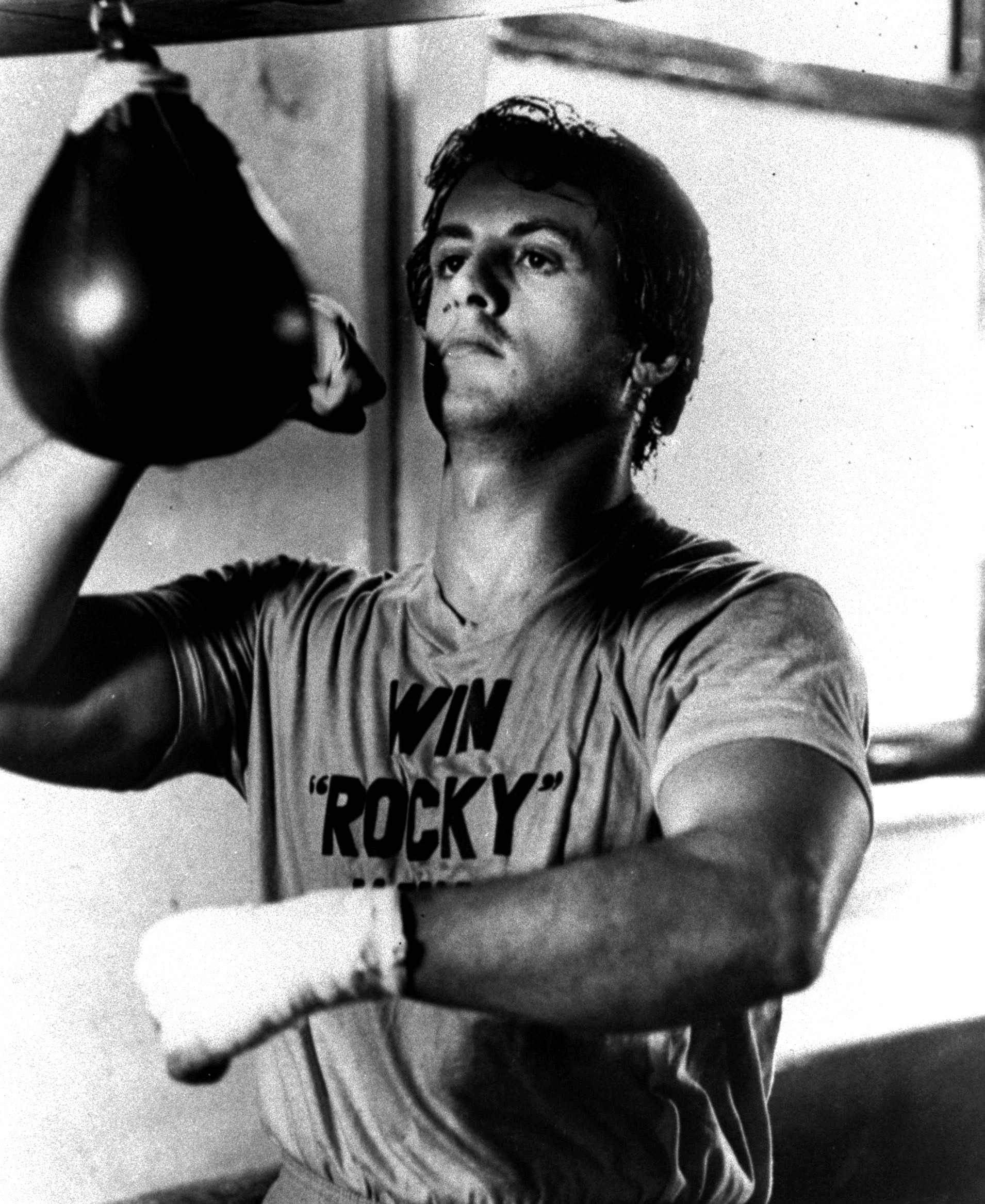 """Sylvester Stallone in 1976's """"Rocky"""", directed by John G. Avildsen. (AAP)"""