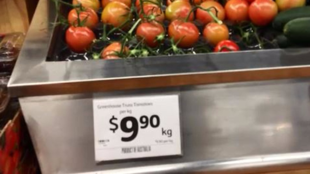 Red-hot tomato prices are cropping up across the nation's east coast. (9NEWS)