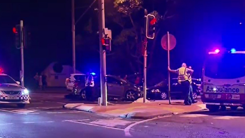 The 26-year-old motorcyclist was pronounced dead at the scene. (9NEWS)