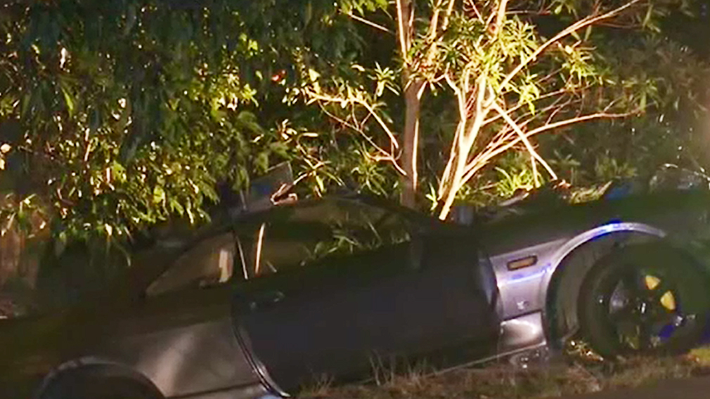 One man was killed and another injured in the Helensburgh crash. (9NEWS)
