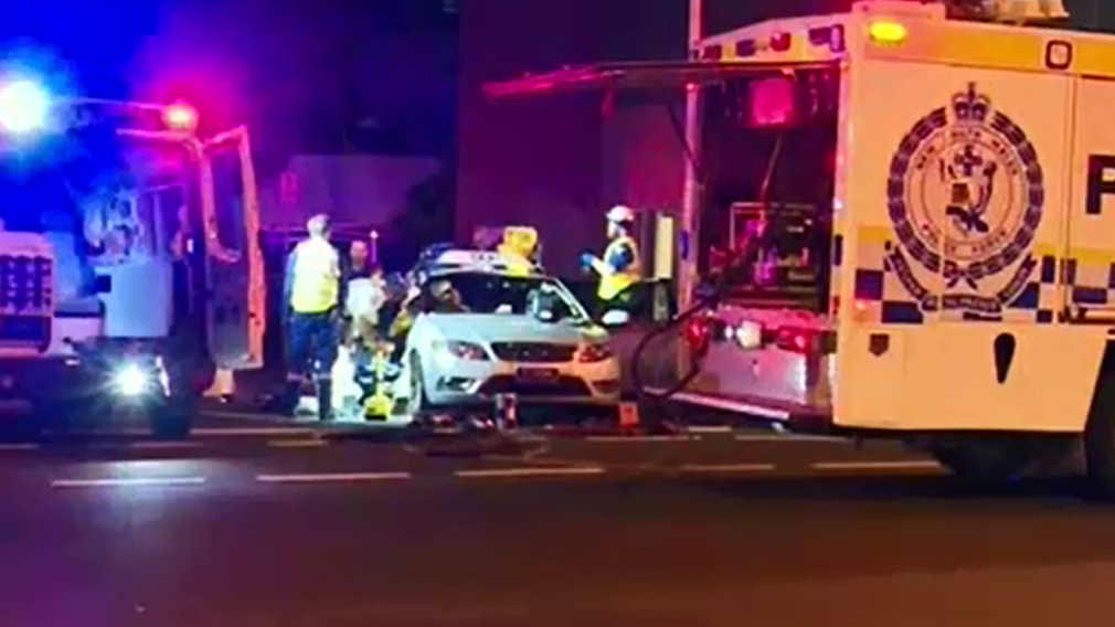 Emergency services were called to the Waterloo scene overnight. (9NEWS)