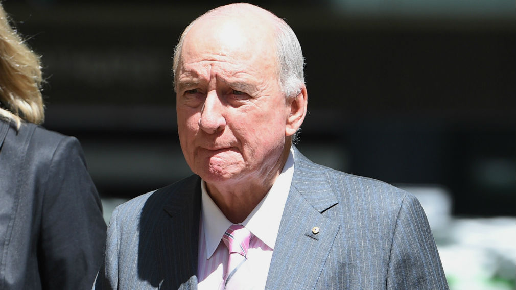 Alan Jones 'lucky to be alive' after developing infection