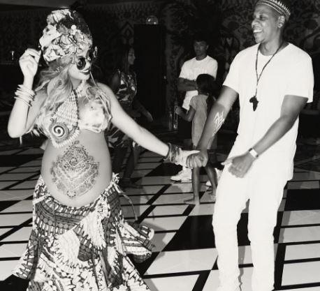 Beyonce has shared images of her pregnancy on Instagram. (@beyonce)