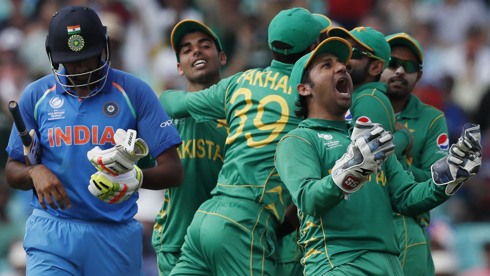 Mohammad Amir and Fakhar Zaman star as Pakistan rout India for Champions Trophy title