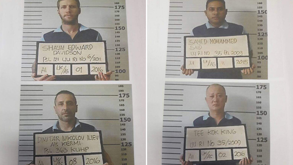 Shaun Davidson and three other inmates escaped Kerobokan prison.