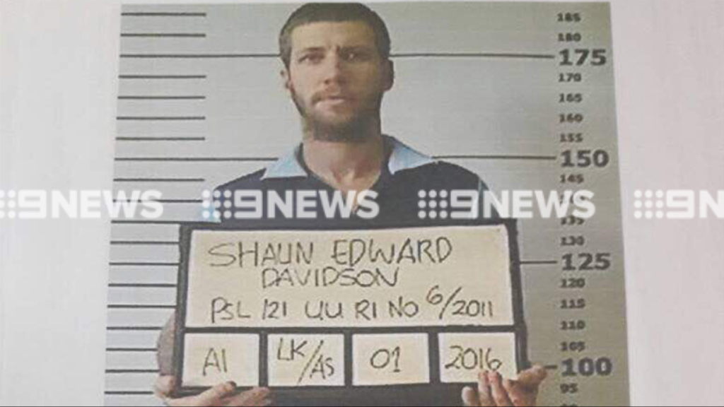 Australian man Shaun Davidson has escaped from Kerobokan Prison. (Supplied)