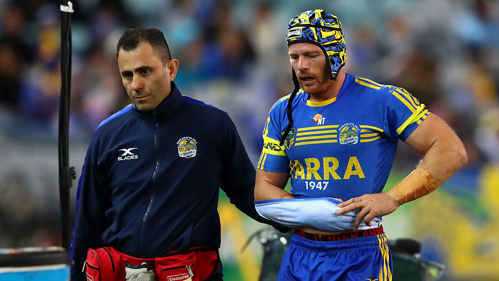 Parramatta's Beau Scott out for NRL season