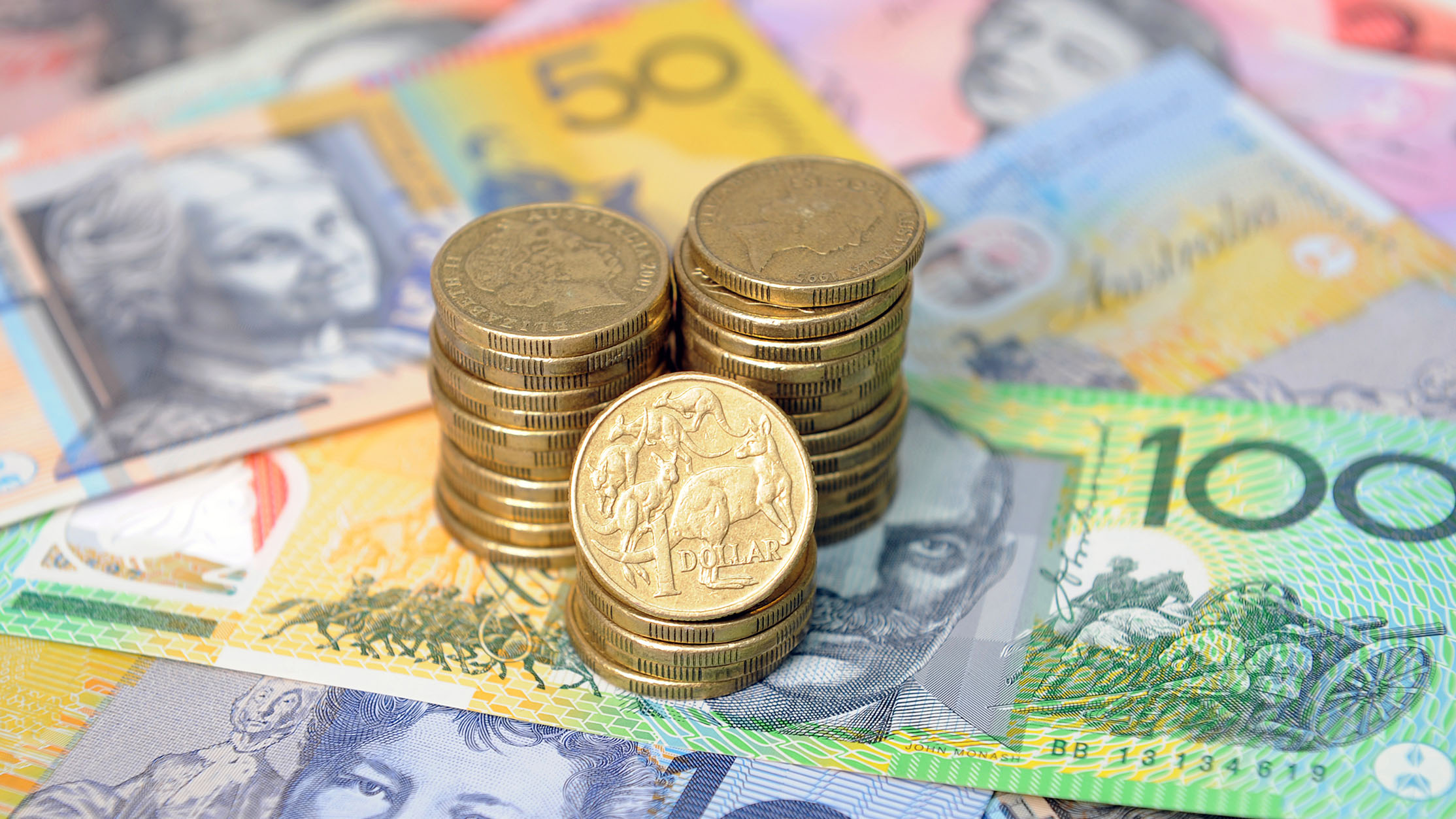 Aussie dollar breaks the 80 cent barrier