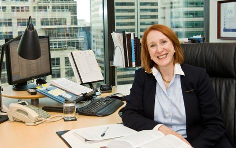 Newly appointment president of the Australian Human Rights Commission, Rosalind Croucher (AHRC)